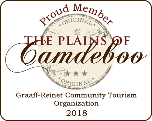 "Aan Die Oewer Guest House is a Proud Member of ""The Plains of Camdeboo"""